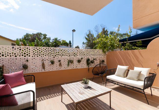 Casa adosada en Marbella - Breezy Beachside Townhouse Canovas (VC)