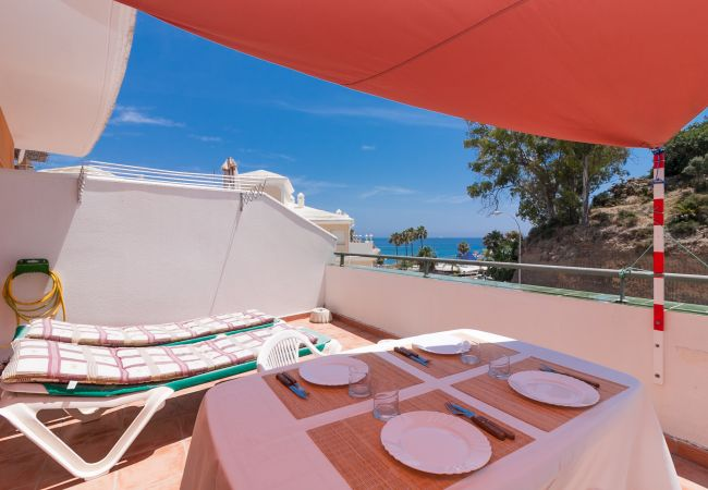 Apartment in Nerja - Rubarsal Burriana Playa Canovas Nerja (2D)